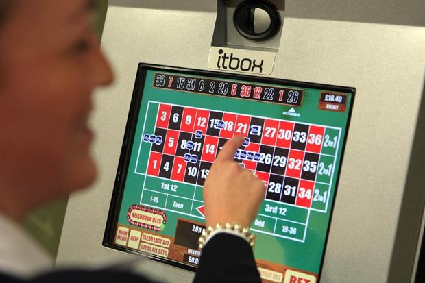 Gamblers put £200m in machines